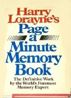 Harry Lorayne - Page-a-Minute Memory Book-Angus & Robertson (1986)