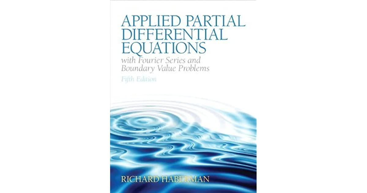 Applied partial differential equations haberman 5th edition epub solutions fandeluxe
