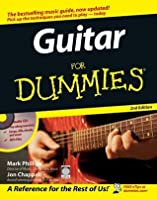 guitar for dummies by mark phillips. Black Bedroom Furniture Sets. Home Design Ideas