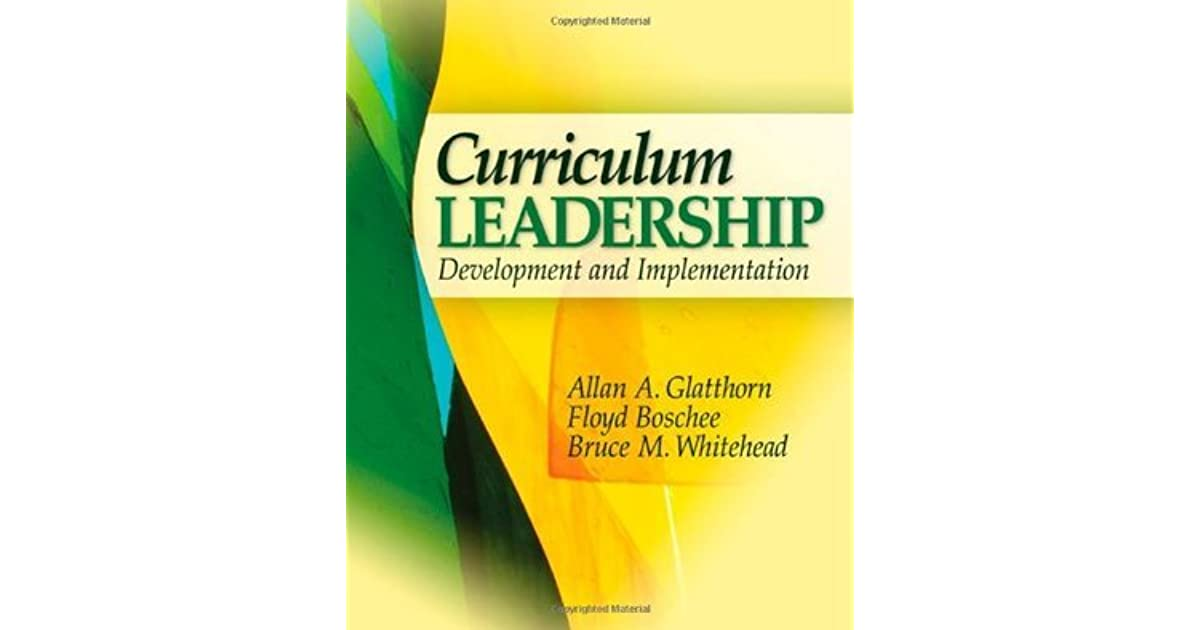 revitalizing curriculum leadership book review