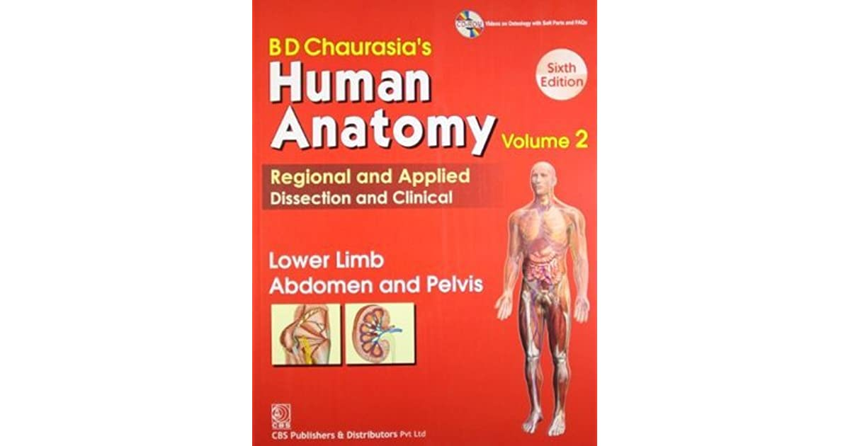 Human Anatomy Volume 2 Lower Limb Abdomen And Pelvis By Bd