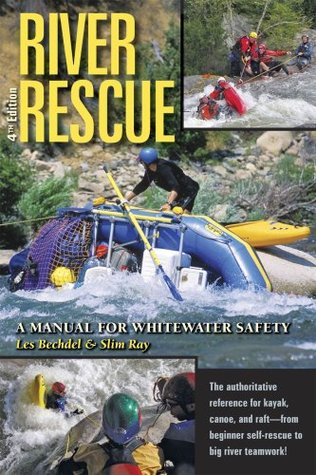 White water safety and rescue book