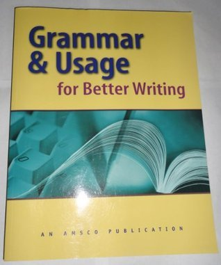 Grammar and Usage for Better Writing (2004)[A4]