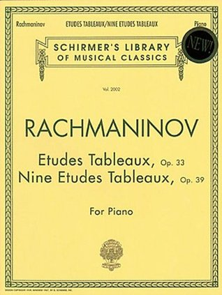 Etudes Tableaux, Op. 33 & 39: Schirmer Library of Classics Volume 2002 Piano Solo