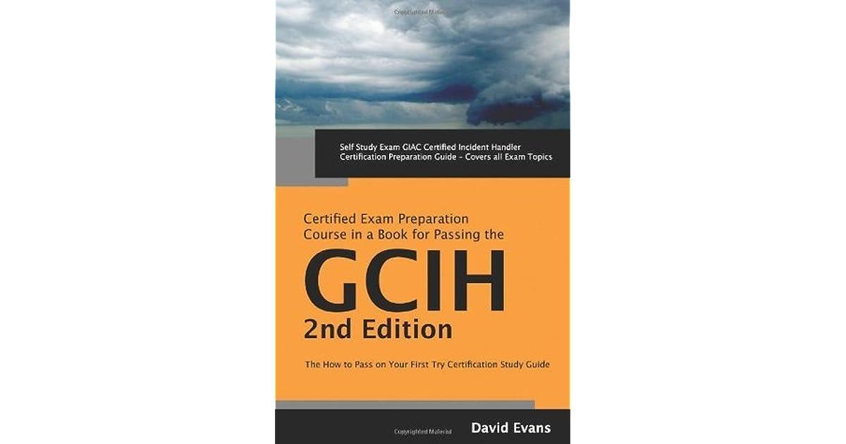 Giac Certified Incident Handler Certification Gcih Exam