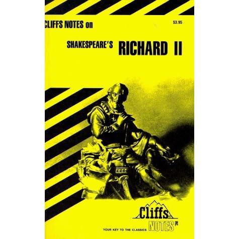 Shakespeares Richard II (Cliffs Notes)