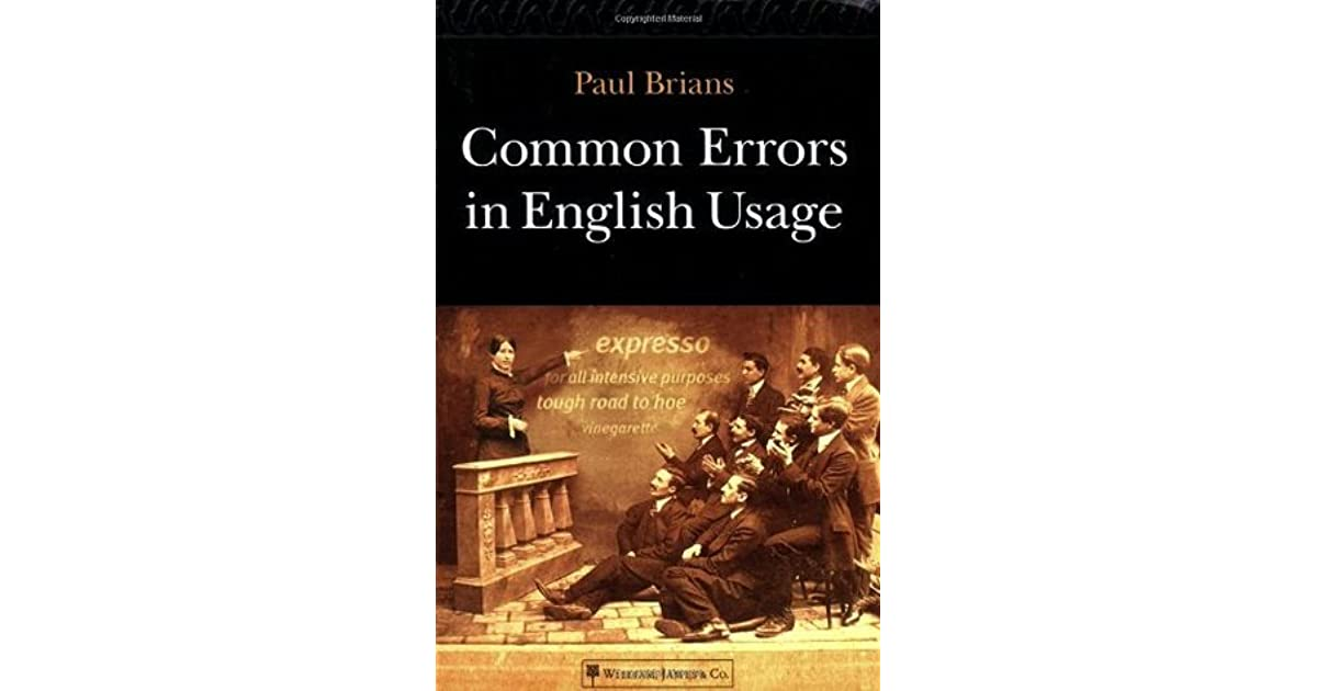 Third Edition Common Errors in English Usage