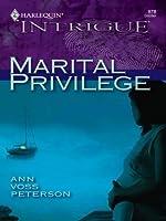 Marital Privilege (Harlequin Intrigue)