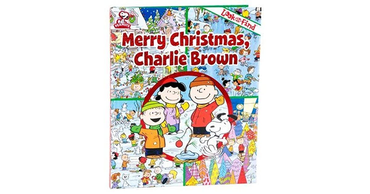 Merry Christmas Charlie Brown.Merry Christmas Charlie Brown Look And Find By