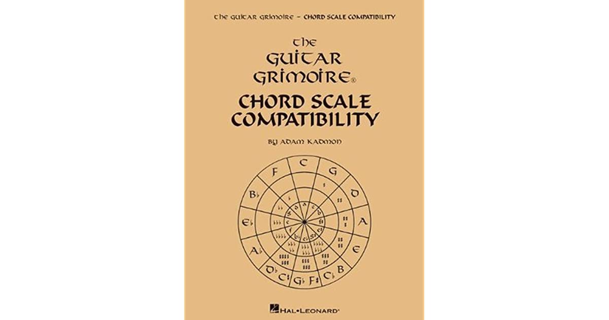 The Guitar Grimoire Chord Scale Compatibility By Adam Kadmon