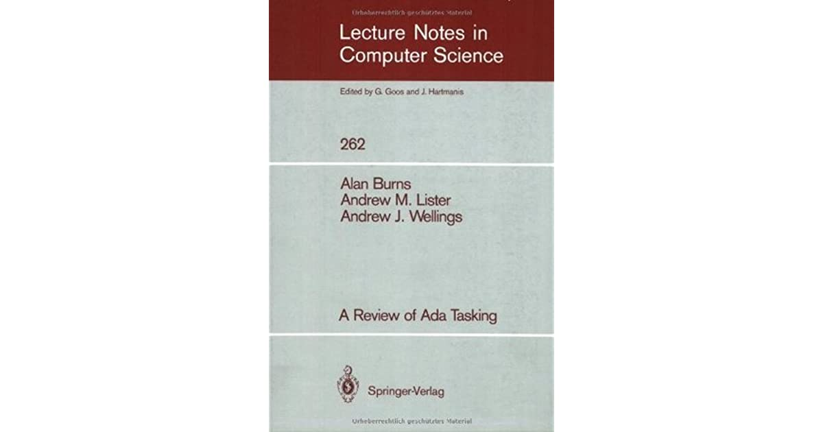 Computers & Technology A Review of Ada Tasking Books thelibas.com