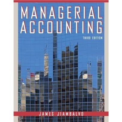 Managerial Accounting For Dummies Cheat Sheet