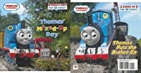 Thomas' Mixed-Up Day/Thomas Puts the Brakes On (Thomas & Friends) (Deluxe Pictureback)