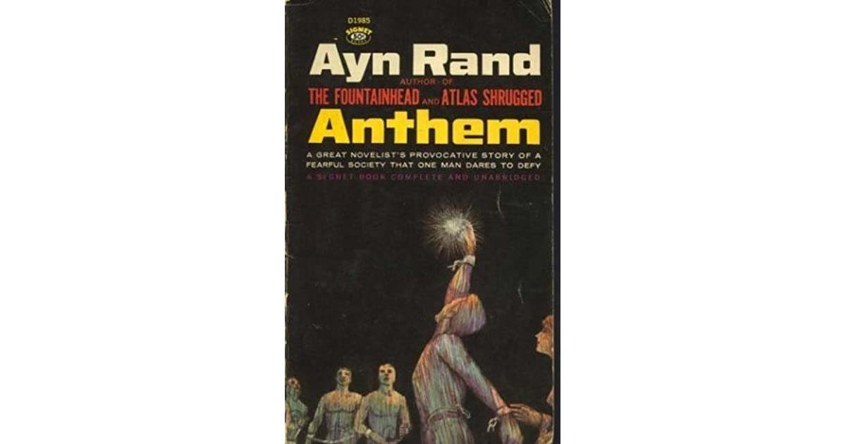 Ayn Rand Book Cover Art : Anthem by ayn rand
