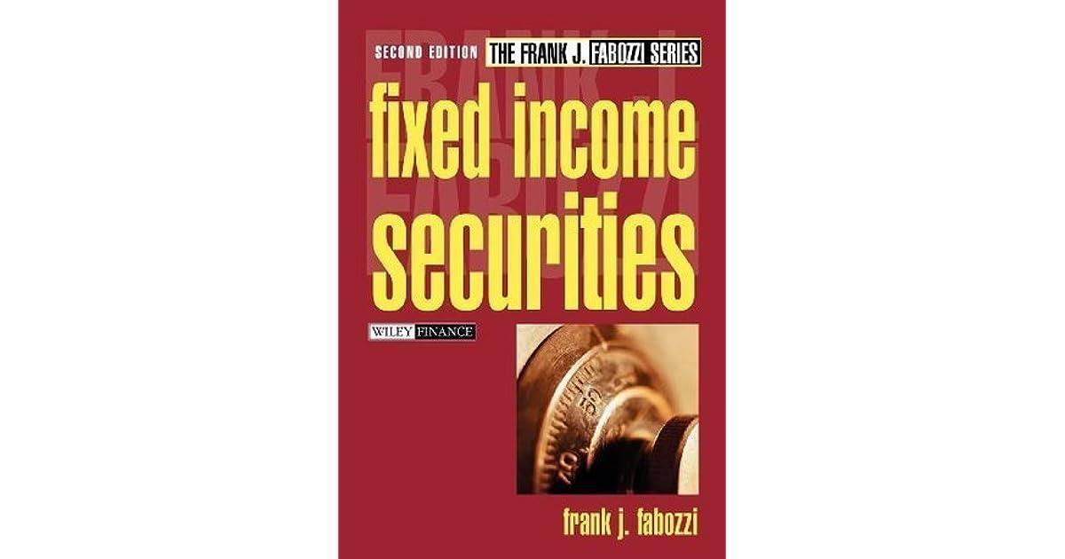 Fixed Income Securities (Frank J. Fabozzi Series)