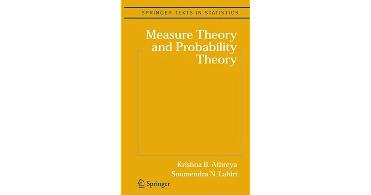 Measure Theory and Probability Theory (Springer Texts in Statistics)