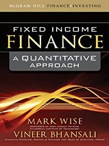 Fixed Income Finance : A Quantitative Approach
