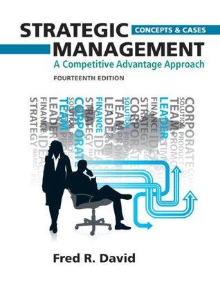 fred r david strategic management 13th edition pdf free download