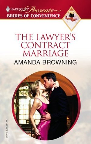 The Lawyer's Contract Marriage by Amanda Browning
