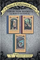 A Series of Unfortunate Events Collection: Books 1-3 with Bonus Material: The Bad Beginning, The Reptile Room, The Wide Window (A Series of Unfortunate Events Boxset)