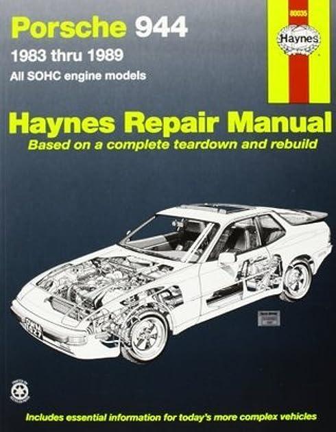 porsche 944 automotive repair manual 1983 thru 1989 all models rh goodreads com 1983 Porsche 944 Track Car 1983 Porsche 944 Track Car
