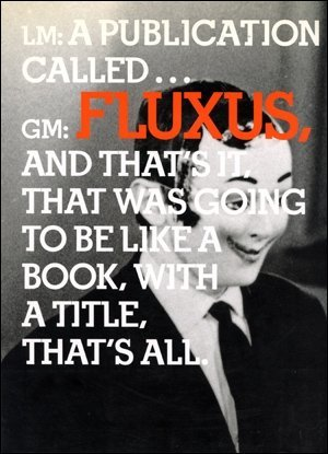 In the Spirit of Fluxus by Simon Anderson