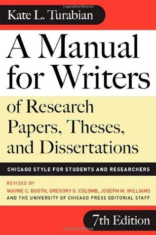 A Manual for Writers of Research Papers Theses and Dissertations - facebook com LibraryofHIL