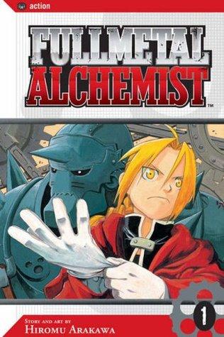 Jacket cover for Fullmetal Alchemist vol 1 by Hiromu Arakawa