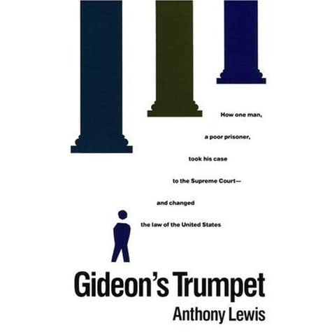 gideon's trumpet More book essay topics 2 summary and answers to questions 21 read chapters 1-8 of gideon is trumpet and write summary this book reminds us a right everybody.