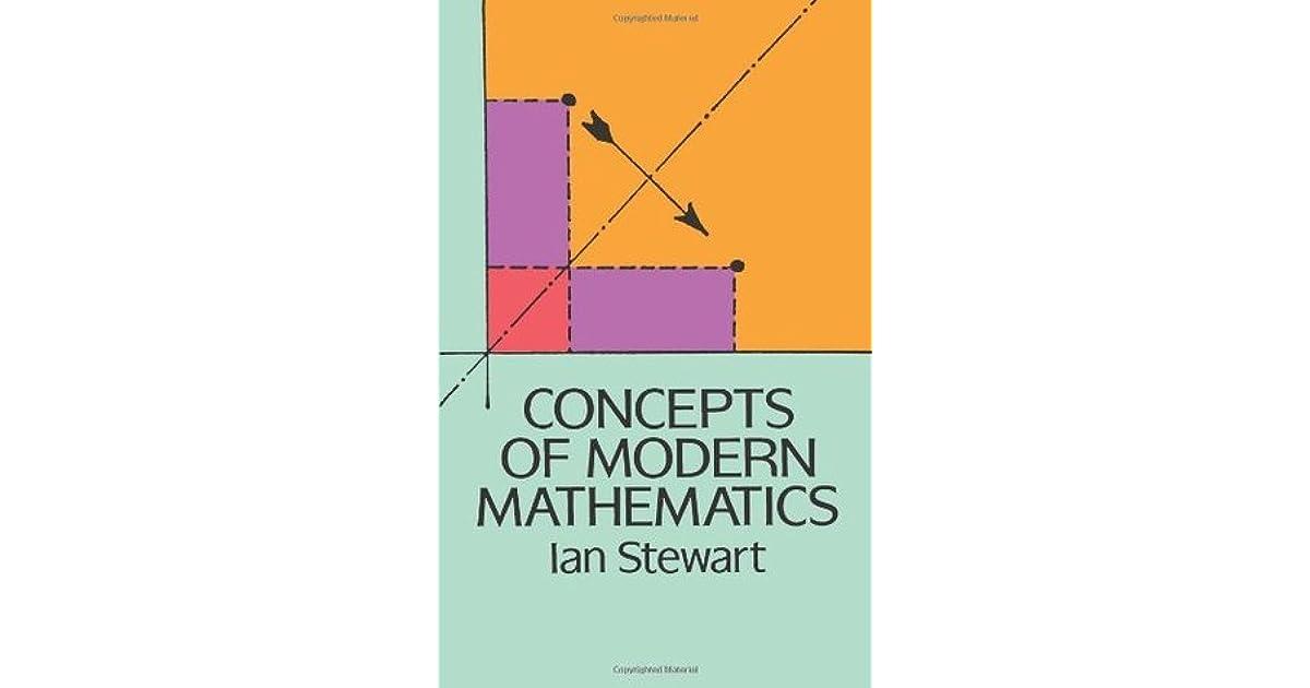 Concepts of Modern Mathematics by Ian Stewart