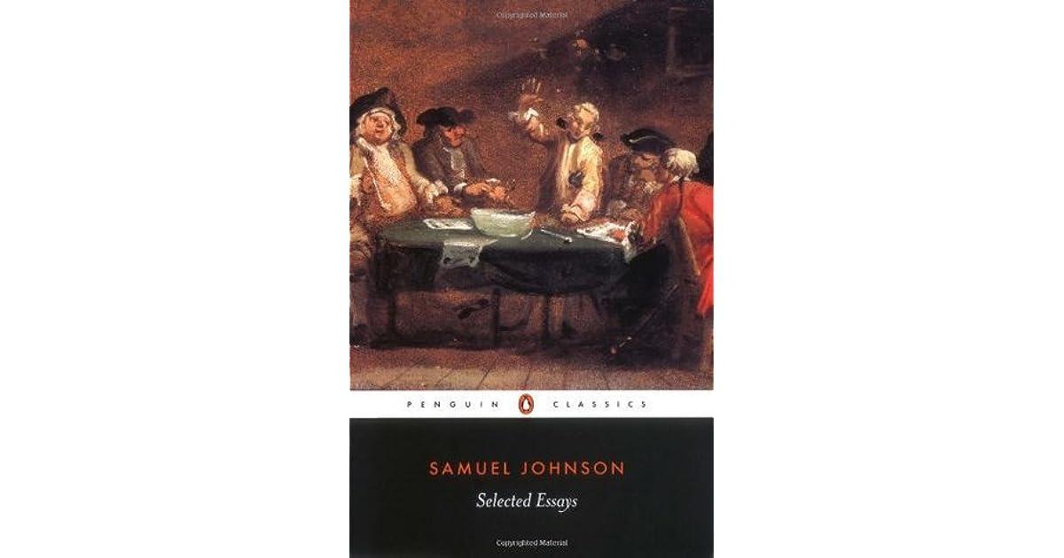samuel johnson essays