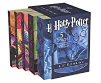 Harry Potter Boxed Set, Books 1-5 (Harry Potter, #1-5)