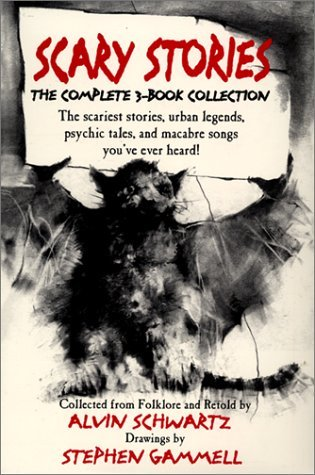 Scary Stories Boxed Set by Alvin Schwartz