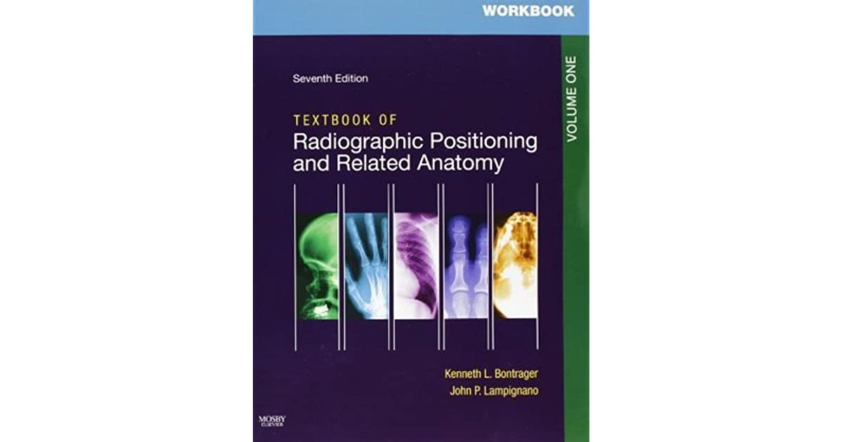 Workbooks for Textbook of Radiographic Positioning and Related ...