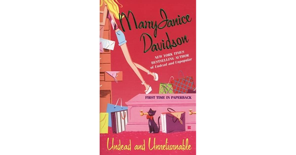 Read Undead And Unreturnable Undead 4 By Maryjanice Davidson