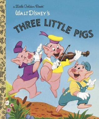 Walt Disney's Three Little Pigs (A Little Golden Book)