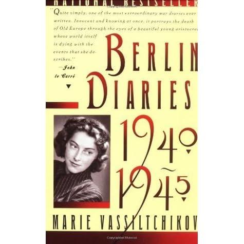 1940 1945 berlin diary vintage