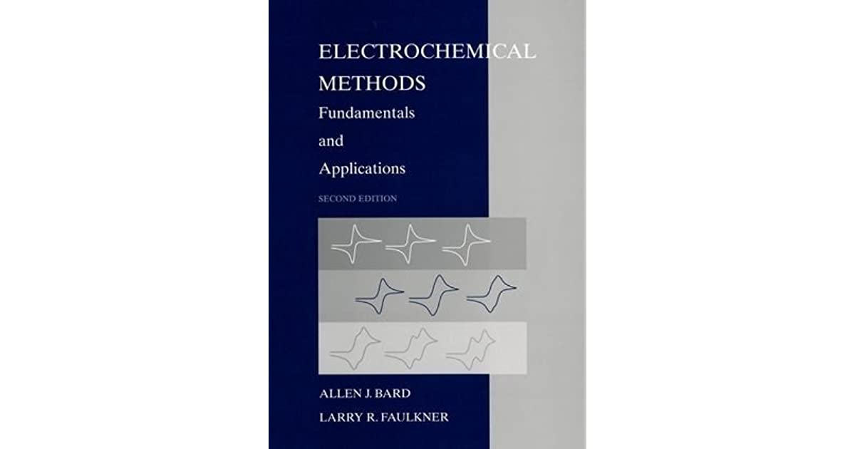 Electrochemical Methods Fundamentals And Applications Pdf