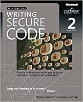 Writing Secure Code 2nd (second) edition Text Only