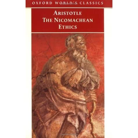 nicomachean ethics virutes of honor Aristotle, nicomachean ethics book i, chapters 4-7 (excerpts) translated by w d ross excerpt reproduced here for educational purposes only august 6, 2002 full text at: .
