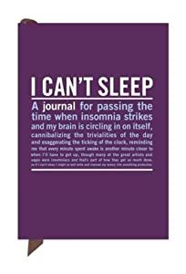 Knock Knock Mini Inner-Truth Journal, I Can't Sleep, 4 x 5.75 Inches (50077) (Mini IT)
