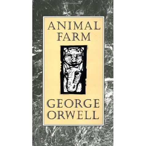 a depiction of human nature in animal farm by george orwell