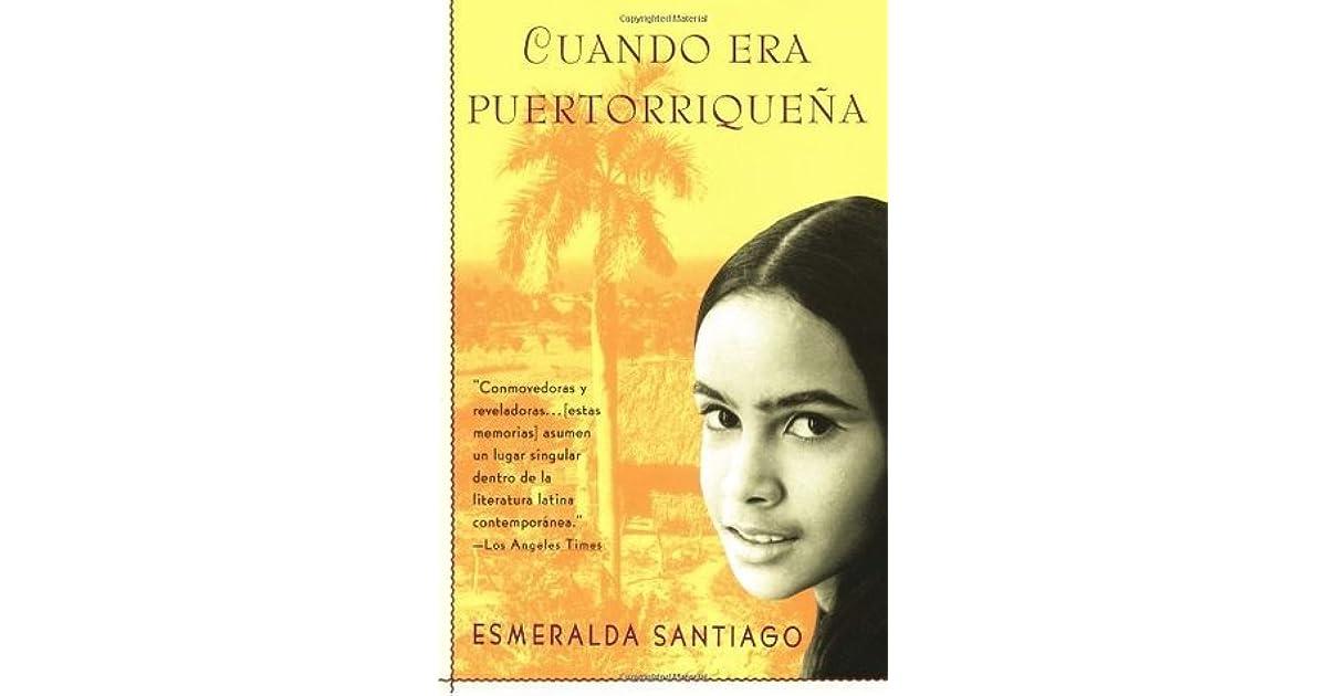 Cuando era puertorriqueña Reader's Guide