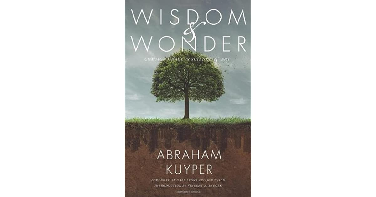 Wisdom and Wonder: Common Grace in Science & Art by Abraham