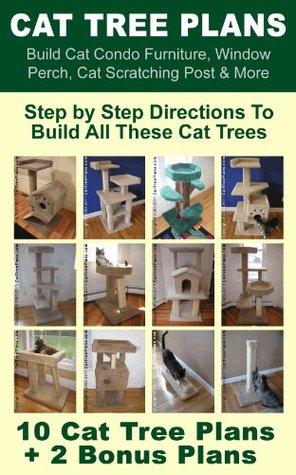 Cat Tree Plans Build Cat Condo Furniture Window Perch Cat