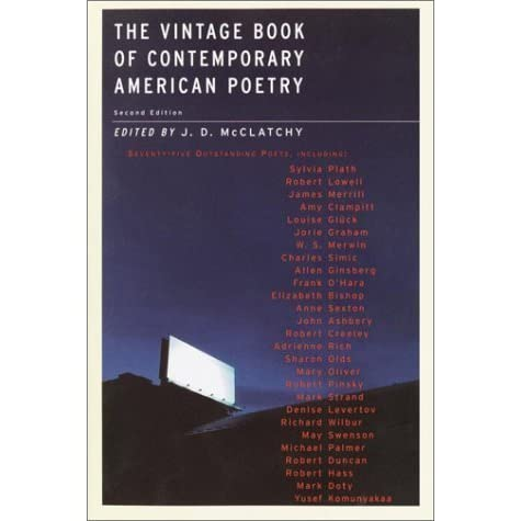 The vintage book of contemporary american poetry by jd mcclatchy fandeluxe Ebook collections