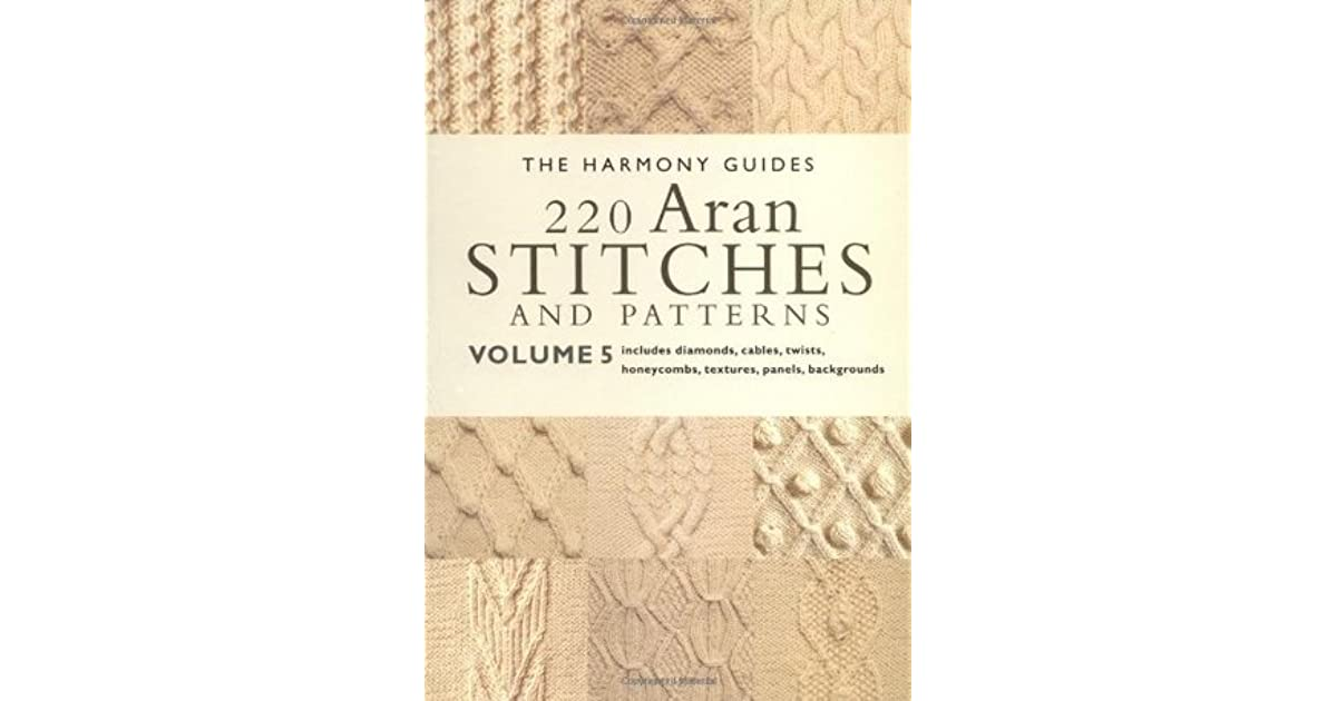 220 Aran Stitches And Patterns Volume 5 By Collins Brown