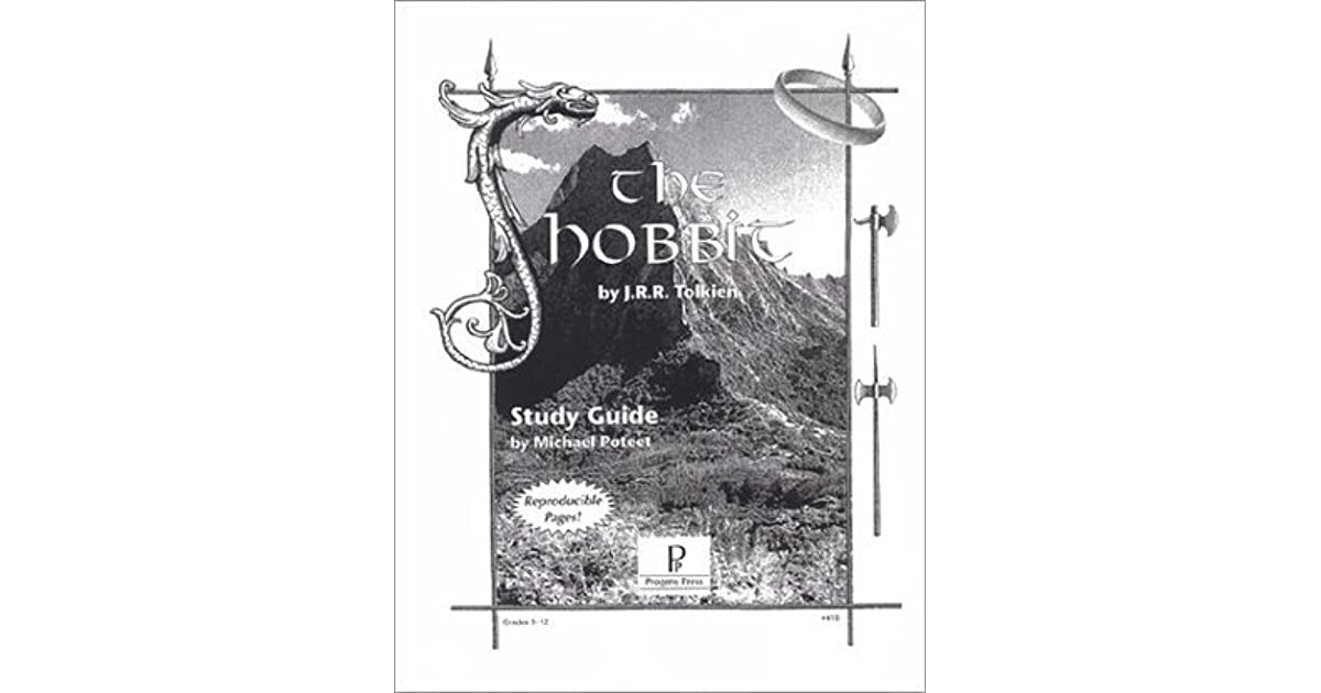 the hobbit study guide pdf