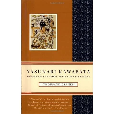 the artistic spirit of the novel thousand cranes by yasunari kawabata - the novel thousand cranes by yasunari kawabata takes place in post-war japan, an era of change, where there is a struggle between keeping japanese traditions and becoming westernized, or modernized.