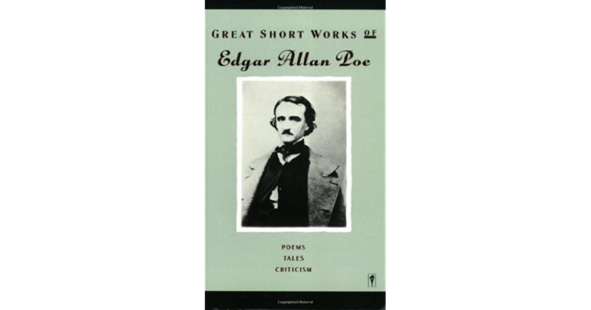 edgar allan poe reviews and essays Noté 00/5 retrouvez essays and reviews et des millions de livres en stock sur amazonfr achetez neuf ou d'occasion.